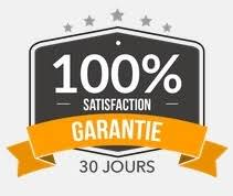 100% Satisfaction garantie 30 jours