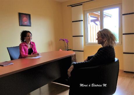 Célina Randoin-Cesari, psychologue, thérapie brève et coaching